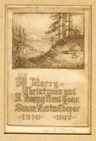Christmas card 1916, and Interesting DISCOVERY! by MJBivouac