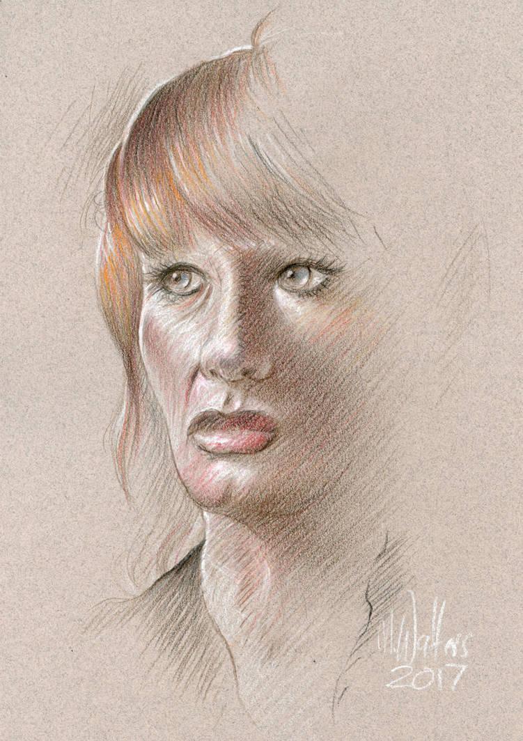 Pensive Redhead by MJBivouac