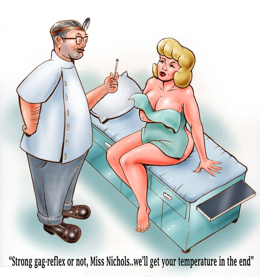 Men's magazine cartoon by MJBivouac