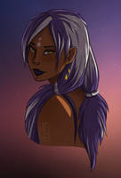 And what if Aashka were a human by YokaMycelium