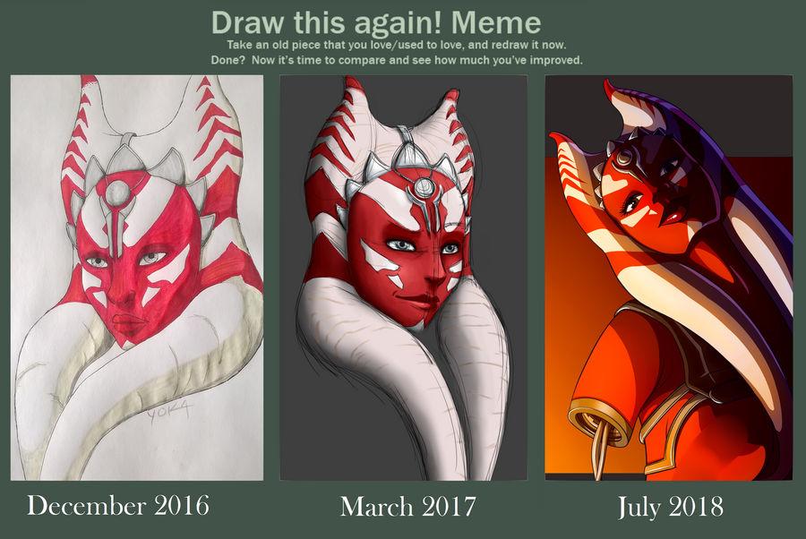 Draw This Again by YokaMycelium