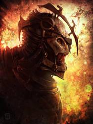 Bonereaver Battlelord by CTalmage