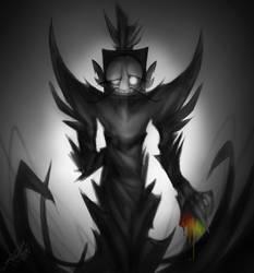 Edgy King by GabythePurpleSheep
