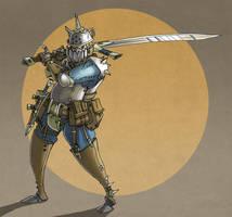 fantasy earth zero - warrior by jouste