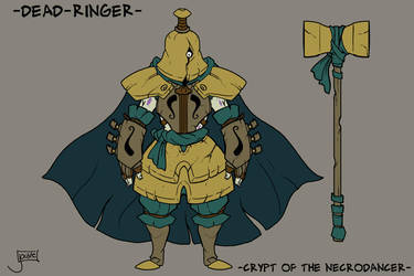 COTND: Dead Ringer Boss Concept by jouste