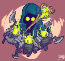 The Collector from Slay the Spire by jouste