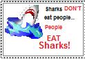 Shark stamp by vampireintherain