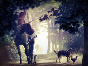 The Bremen town musicians by MartinKropf