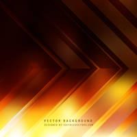 Dark Orange Arrow Background Free Vector by 123freevectors