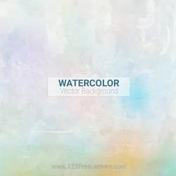 Watercolor Free Vector by 123freevectors