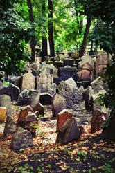 Praga jewish cemitery by LuceInfuocata