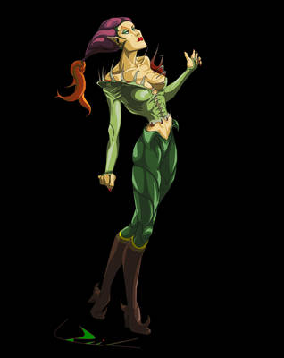 Poison Ivy Variant Design by Coulter Rail by CoulterRail