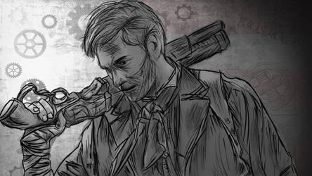 Bioshock Infinite Wallpaper by badmichel