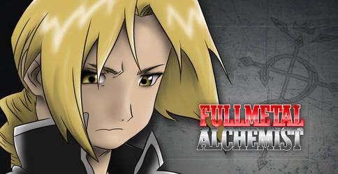 Edward Elric: The Full Metal Alchemist by badmichel