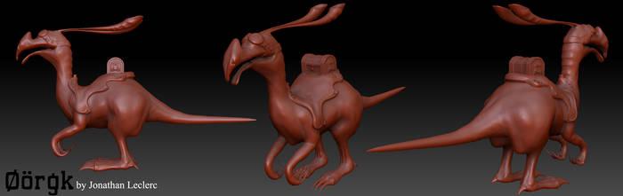 Fantasy Creature: Oorgk by badmichel