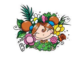 My Flowers by tawfi2