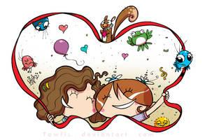Friendship by tawfi2