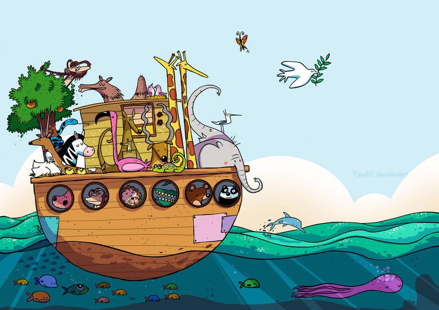 Noah's Ark by tawfi2
