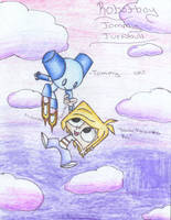 ROBOTBOY and TOMMY by TheBig-ChillQueen