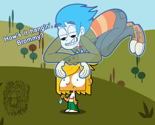 DTMG/RB- Tommy and Billy Joe Cobra by TheBig-ChillQueen