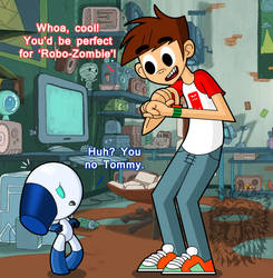 DTMG/RB- Robotboy and Spencer Wright by TheBig-ChillQueen