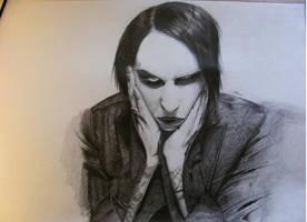 Marilyn Manson by A-Krawiec