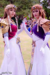 Double Zelda by AnaPaulaDBZ