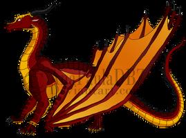 Crimson - WoF OC by AnaPaulaDBZ