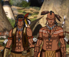Western YGO - Twin Warriors by AnaPaulaDBZ