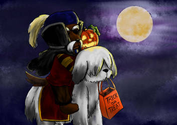 Labyrinth Halloween Contest Entry by JanetR2014