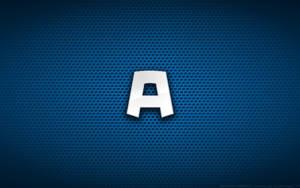 Wallpaper - Captain America Comix 'A' Logo by Kalangozilla