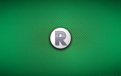 Wallpaper - TMNT '87 Raph Logo by Kalangozilla