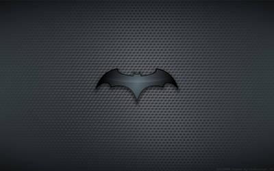 Wallpaper - Batman Begins 'Chest Bat' Logo by Kalangozilla
