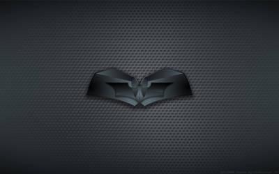 Wallpaper - Batman Dark Knight 'Chest Bat' Logo by Kalangozilla