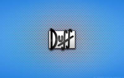 Wallpaper - Duffman Logo by Kalangozilla
