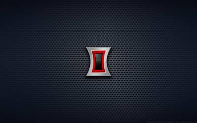 Wallpaper - Black Widow 'Avengers Style' Logo by Kalangozilla