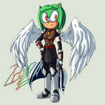 Jade with angel wings by Zboys