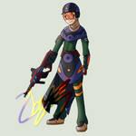 Commander Lola by Zboys