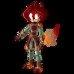 Fem-Blitz pixel edition by Zboys