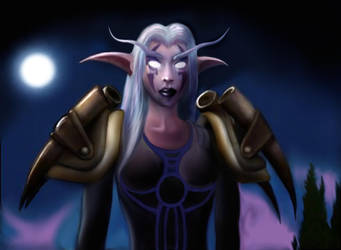 night Elf by Tormentil