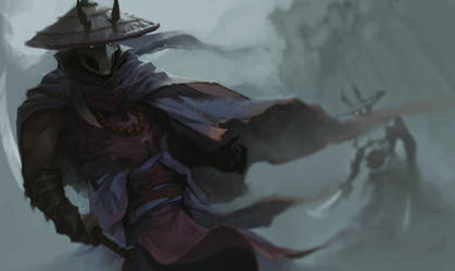 Demonic Rice Hats by KewinArt