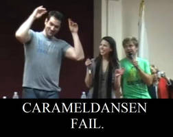 Travis' Carameldansen Fail by squidgirl15