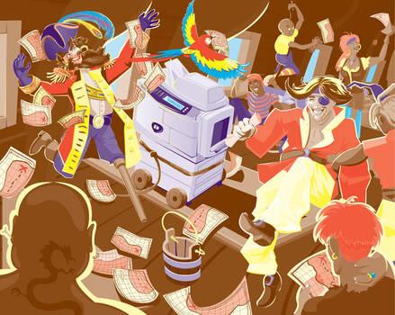 Xerox: Teamwork by hannahmcgill