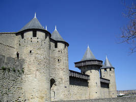 Medieval City of Carcassonne by Malintra-Shadowmoon