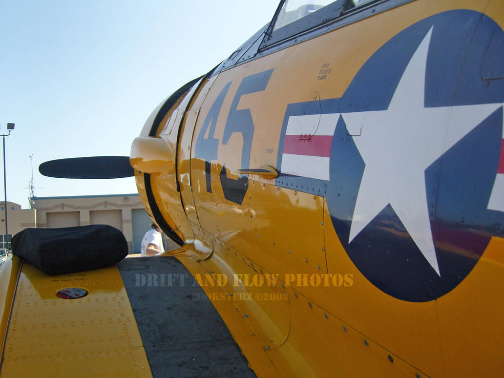 Hello Harvard T-6 Texan by driftandflow
