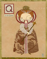 Q is for Queen by renton1313