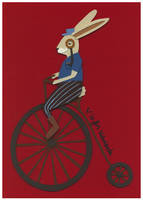 V is for Velocipede by renton1313