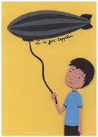 Z is for Zeppelin by renton1313