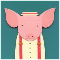 Pig in a Porkpie by renton1313