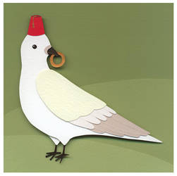 Dove With Fez by renton1313